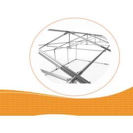 3m széles BIGTENT EXTRA PVC550 rendezvény sátor, több méretben FEHÉR