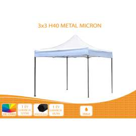 Bigtent Design pavilon 3x3 H40 Micron Party