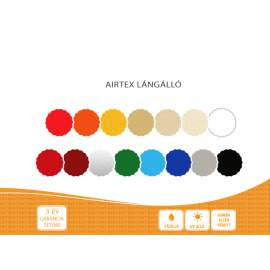 Airtex Classic impregnált acryl vászon 100 méter / 170m2