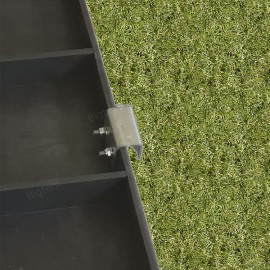 3x4,5-ös pavilon padozat 14 m2