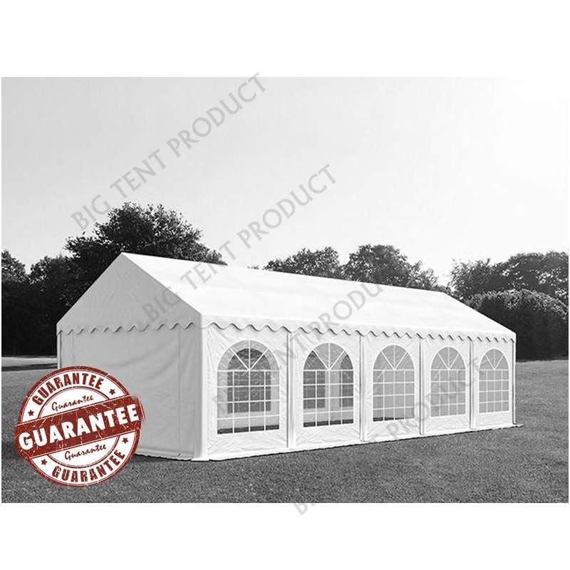 3m széles BIGTENT PROF PVC rendezvény sátor, több méretben Fehér