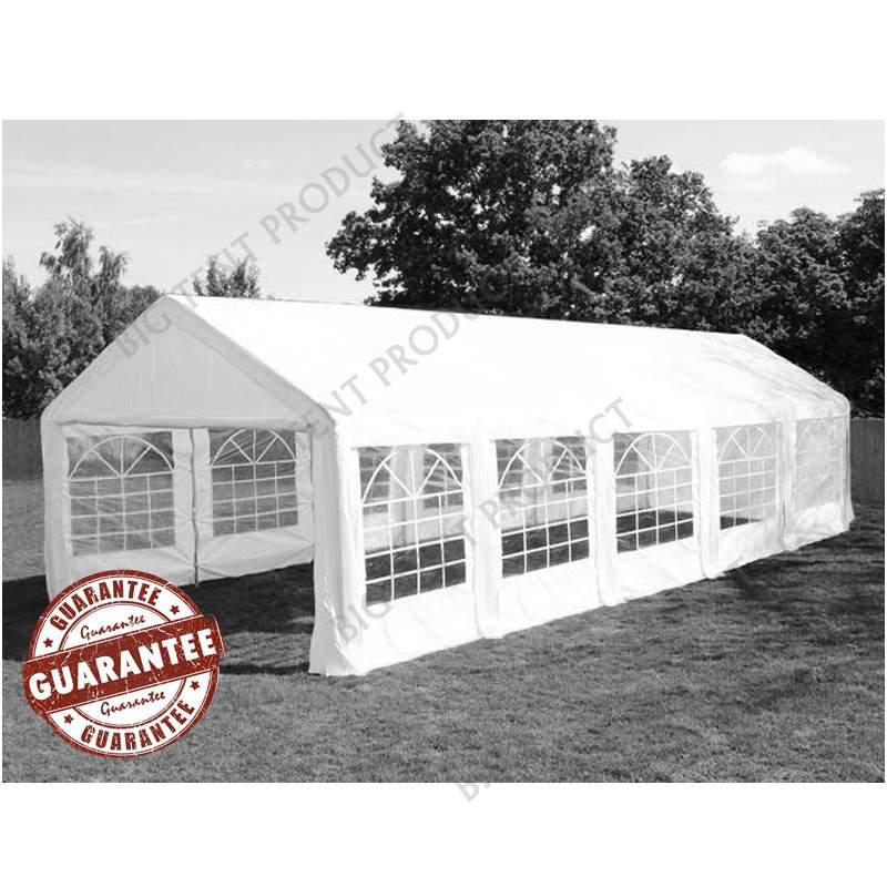 3m széles STAND 180PE rendezvény sátor több méret FEHÉR