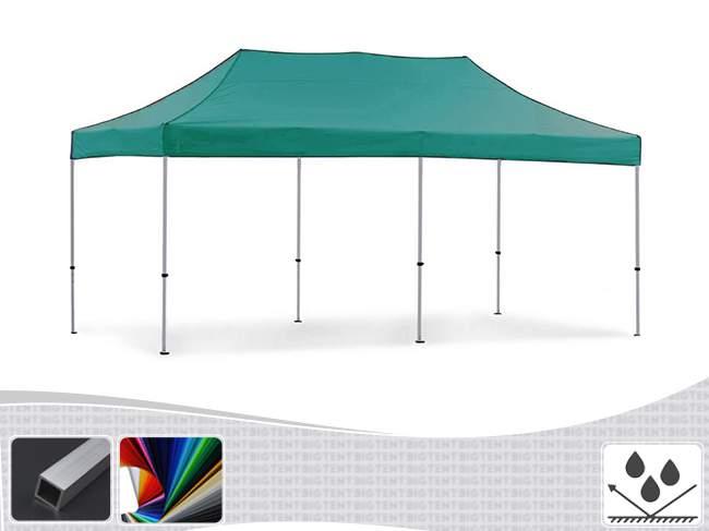 3x6 ALU30 Stand nyitható pavilon, MIKRON tetővel