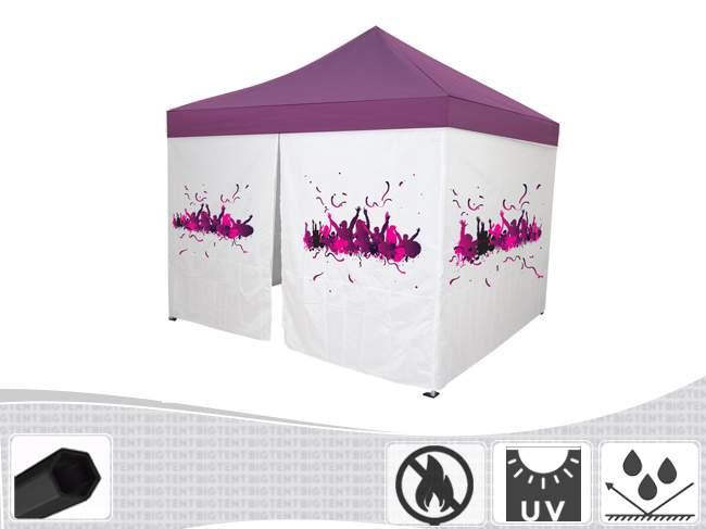 Bigtent Design Fire pavilon 3x3 lángálló, party sátor
