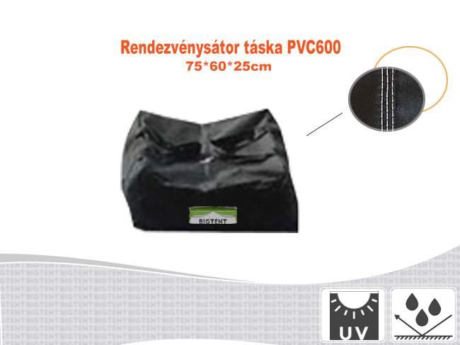 Erős rendezvénysátor táska 75x60x25cm PVC600